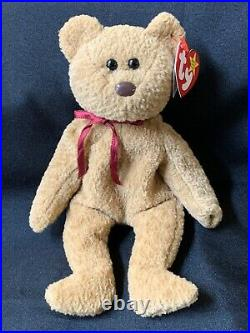 TY BEANIE BABY CURLY RETIRED With TAG ERRORS VERY RARE! Collectible Old Vintage