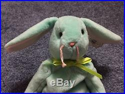 TY BEANIE BABY HIPPITY Hippity 1996 Very Rare, With Many Errors