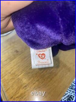 TY BEANIE BABY PRINCESS DIANA EXTREMELY RARE INDONESIA PVC Pellet Canada Tag