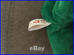 TY Beanie Babie ERIN OLD FACE ULTRA RARE NEW MWMT Collectors Item Tag Rarities