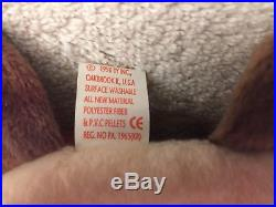 TY Beanie Babies Claude the Crab Rare Version with Errors