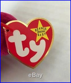 TY Beanie Babies Valentina The Bear 1998 Retired Rare Vintage & Collectable