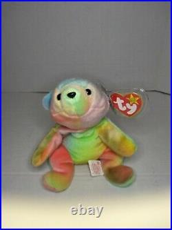 TY Beanie Baby 1998 Sammy the Bear RARE with errors. Retired
