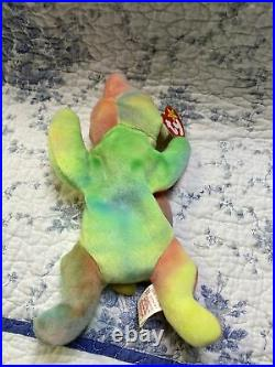 TY Beanie Baby Babies 1998 / 1999 Sammy the Bear RARE with Errors Retired