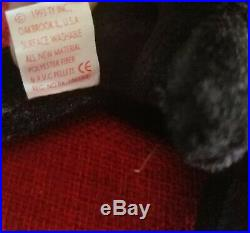 TY Beanie Baby, Blackie the Bear, RARE and retired