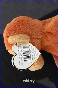 95dab4b2444 TY Beanie Baby Bongo Style 4067 AUTHENTICATED Rare Museum Quality