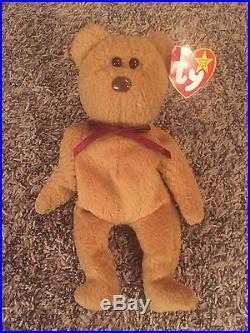 TY Beanie Baby Curly Bear RARE ERRORS