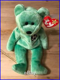 TY Beanie Baby Kicks Rare with Tag Error Immaculate Condition