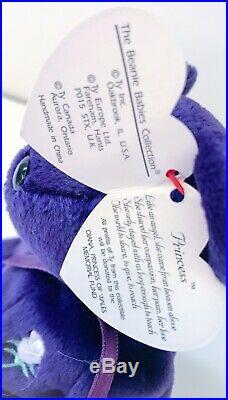 TY Beanie Baby Princess Diana Princess Rare Collectible Bear (1997)