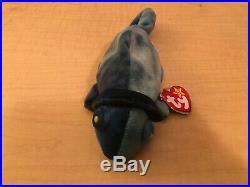 TY Beanie Baby RAINBOW IGGY Rare/Retired ERROR Birthday Oct 14 1997 JKT11