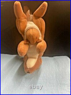 TY Beanie Baby Rare Retired 1st Original Mint Condition 1996 Pouch Kangaroo