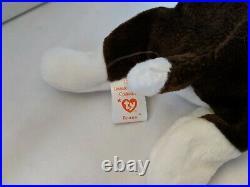 TY Beanie Baby Rare Retired Original Pristine Mint Condition 1997 Bruno Dog