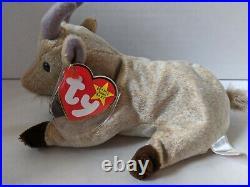 TY Beanie Baby Rare Retired Original Pristine Mint Condition 1999 Goatee Goat