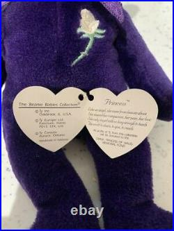TY Beanie Baby Ultra rare 1997 Princess Diana Made in Indonesia