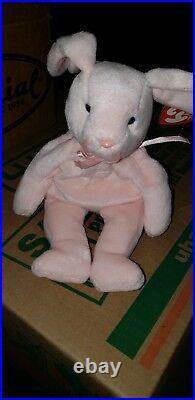 TY ORIGINAL BEANIE BABY HOPPITY 1996 Rare Muliple Errors