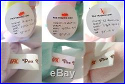 Trio 3 Authenticated Ty PROTOTYPE Bunnies HIPPITY HOPPITY FLOPPITY Ultra Rare