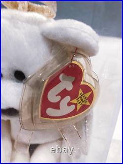Ty Beanie Babies Halo the Angel Bear Toy Rare