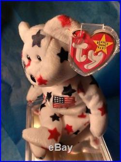 1140e24dd58 Ty Beanie Babies RARE Retired Glory Teddy Bear 1st EDITION BEST CHRISTMAS  GIFT
