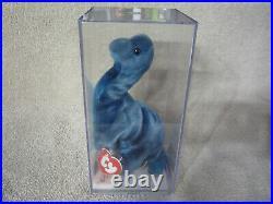 Ty Beanie Babies Rex, Steg, Bronty, The Dinosaur Trio, Rare 1st Generation