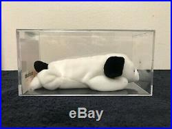 Ty Beanie Babies Ultra RARE Spot No Spot 1st Gen Tush Tag Authenticated & Sealed