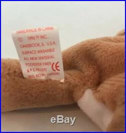 Ty Beanie Babies Wrinkles The bulldog #4103 1996 Retired Rare Vintage