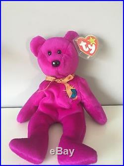 Ty Beanie Babies/beanie Baby (retired) Rare Millennium Bear (Lowest Price)