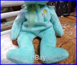 Ty Beanie Baby Ariel P. E. PELLETS, c2000 MINT In Memory1981-1988 RARE