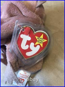 Ty Beanie Baby Batty 1996 Rare Errors
