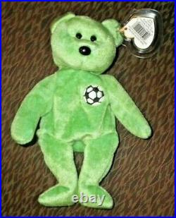 Ty Beanie Baby Kicks Rare With Tag Error Immaculate Collectors Condition