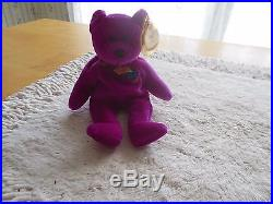 Ty Beanie Baby Millennium Rare Bear-1999