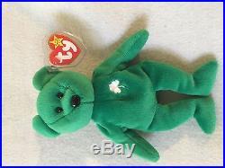 5971a5cbed1 Ty Beanie Baby Original Erin Retired