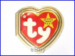 Ty Beanie Baby Original Halo P E Pellets 1998 Error Tush Tag Rare