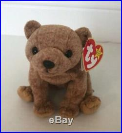 Ty Beanie Baby Pecan The Bear 1999, VintageCollectibleRetiredRare