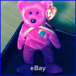 Ty Beanie Baby Rare With Tag Errors Millennium The Bear