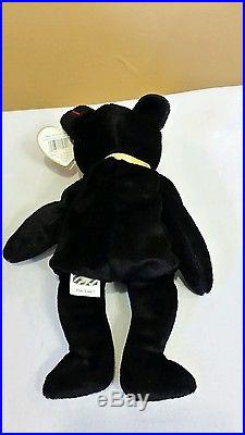 b378fb72ff8 Ty Beanie Baby THE END the Bear 1999 with RARE TAG!
