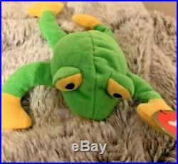 Ty Beanie Baby Teenie Smoochy Original 1993 Rare PVC