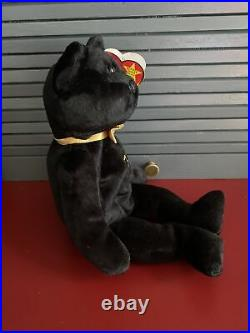 Ty Beanie Baby The End Bear Mint Condition RARE With 4 ERRORS
