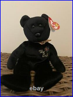 Ty Beanie Baby The End Bear Mint Condition RARE With 4 ERRORS! MUST SEE