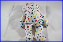 Ty Beanie Baby Ty 2K Bear TUSH TAG FLAP RARE 1999