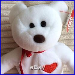 Ty Beanie Baby Valentino Very Rare 1993/1994 Collectible Hang Tag Errors