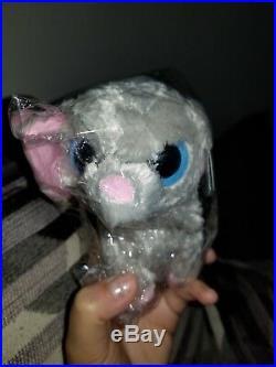 Ty Beanie Boo Peanut the Elephant Plush Toy, 2009, Gray with Pink Ears & Feet Rare
