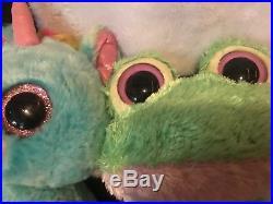 Ty Beanie Boos Lot of 3 TREASURE KOOKY KIWI rare retired 6 inch