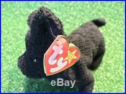 Ty Beanie Scottie The Beanie Baby Collection Retired/Rare/Original MAJOR ERROR