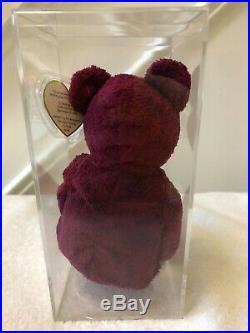 Ty Billionaire Bear 2 Beanie Baby Ultra Rare 100% Authentic #347/475