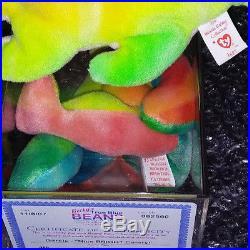 Ty Iggy/ Garcia Beanie Baby Retired, Rare! Original