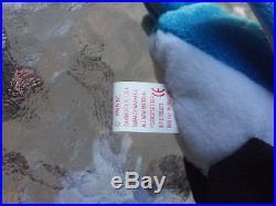 bef1e38da23 Ty Rocket Retired Beanie Baby W Ultra Rare Errors Blue Jay Bird