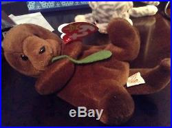 Ty beanie baby Seaweed Limited Edition with 4 Errors! Ultra Rare