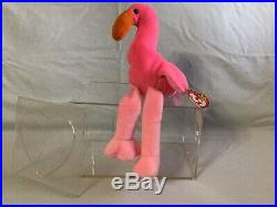Ty original Beanie Babies. PINKY. EXTREMELY RARE EDITION WATERLOOVILLE HANTS TAG