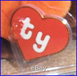 ULTRA RARE Authenticated Ty 1st gen MWMT MQ! CHOCOLATE Beanie Baby Korean Tags