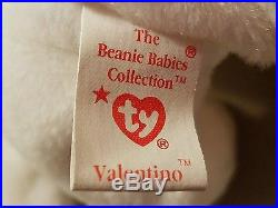 ULTRA RARE Valentino beanie baby misspelled with ERRORS and P. V. C